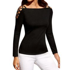 Now Available At Nona's Fashions Black Off Shoulde... Check It Out Here! http://nonasfashions.com/products/black-off-shoulder-sexy-blouse?utm_campaign=social_autopilot&utm_source=pin&utm_medium=pin
