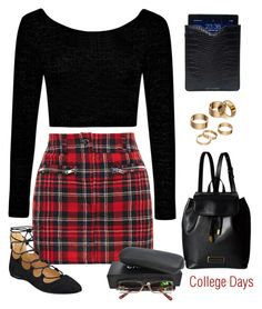 """College Days"" by conch-lady ❤ liked on Polyvore featuring Filles à papa, Nine West, Boohoo, Marc by Marc Jacobs, Apt. 9, Driftwood and Chanel"