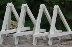 Easel Wedding Chalkboard Stand Custom Color by MichelesCottage, $54.00