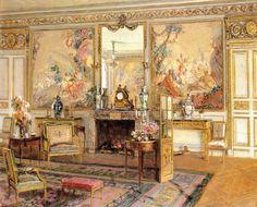 Walter Gay (1856-1937) ––  La Robertsau,  1908  (1271×1024)