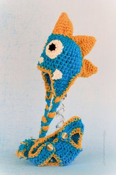 Newborn Dinosaur Beanie with Diaper Cover by TheLovelyyarns, $30.00