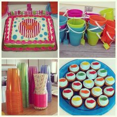 Kid's Summer Birthday Party!!