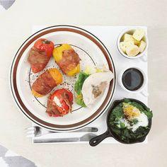 45 個讚,4 則留言 - Instagram 上的 s_s(@s_s_o_o_s_s_o_o):「 . good morning dear sunday :-j))) . #goodmorning #morning #breakfast #yummy #goodfood #instafood… 」
