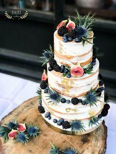 Naked wedding cake www.sillybakery.nl
