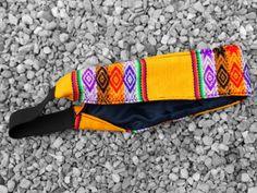 Headband decorated with aguayo