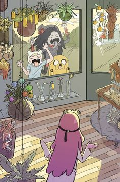 Adventure Time #62 (Cover B Brigitte Woltjen)