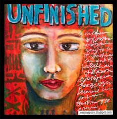 Jessica Sporn Designs: Unfinished: An Art Journal Page
