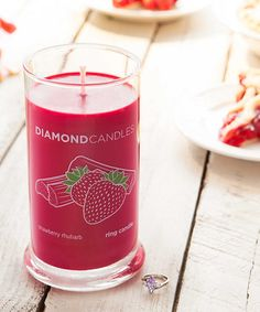 Another great find on #zulily! Strawberry Rhubarb Ring Candle #zulilyfinds