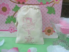 10 Fairy Princess  Muslin BagsGreat for by YellowFlowerDesigns, $15.00