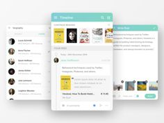 Timeline: Social Reading