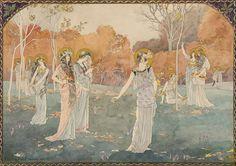Elisabeth SONREL The Virgins' Garden 1892