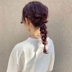 Hair Arrange, Hair Inspiration, Wedding Hairstyles, Wigs, Hair Color, Hair Beauty, Kawaii, Hair Styles, Dyes
