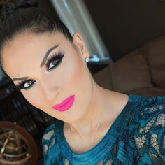 Beautiful!! @sabellamakeup contour and highlight with Motives Perfection Quad and #MotivesMavens Sculpt Series #MotivesCosmetics  yesterdays look @anastasiabeverlyhills single shadows in soft peach Morocco fudge and noir brow wiz in med brown and brow gel in clear glow kit and org contour kit @anastasiabeverlyhills liquid lipstick in Rio @hudabeauty @shophudabeauty lashes in Scarlet @alyakattan @monakattan  @nyxcosmetics jumbo pencil in milk @marcbeauty #velvetnoir mascara  @motivescosmetics…
