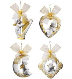 01018360  CHRISTMAS WISHES (SET)   Issue Year: 2011  Sculptor: Juan Ignacio Aliena  Size: 6x30 cm       Limited Edition 500 pieces