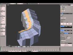 Enhance a game level environment in Blender (1 of 4) - YouTube