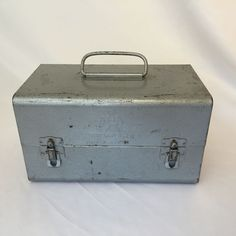 Shows vintage wear including some oxidation, scuffs, surface rust and scratches but it still has its original silvery gray paint.<br/><br/>With that being said, these treasures still have plenty of life to them! | eBay!