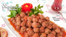 Sulu Köfte Tarifi Salsa, Cooking Recipes, Ethnic Recipes, Food, Hardanger, Turkish Cuisine, Chef Recipes, Essen, Salsa Music