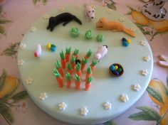 Happy Easter Cake (incl our dogs)