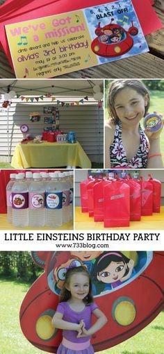 A Little Einsteins Birthday Party - seven thirty three