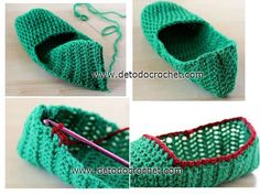 Shoes With Ankle Tie for Super Cute stylesidea- Easter Crochet, Diy Crochet, Crochet Baby, Crochet Shoes, Crochet Slippers, Crochet Designs, Crochet Patterns, Yarn Needle, Loom Knitting