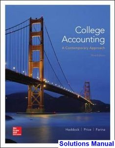 Advanced financial accounting 11th edition christensen cottrell budd solutions manual for college accounting a contemporary approach 3rd edition by haddock fandeluxe Images