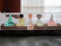 Miniature Perfume Bottles - Parfums Salvador Dali, Dali Collection (EAU DE DALI; DALIMIX; DALISSIME; SALVADOR; LAGUNA).