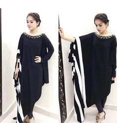 Abaya Fashion, Muslim Fashion, Fashion Dresses, Mode Abaya, Mode Hijab, Kurta Designs, Blouse Designs, African Fashion, Indian Fashion