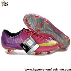 Buy Discount Nike Mercurial Vapor IX FG Purple Red Yellow Soccer Shoes For Sale