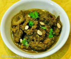 Karela Hara Masala (Bitter Gourd in Green Masala) - Hilda's Touch Of Spice