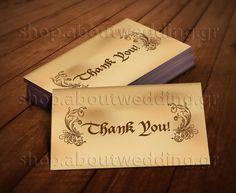 Medieval Wedding Thank You Card - DIY on Etsy, €9.00