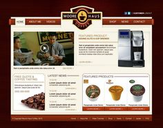 Moore Haus Coffee Website.