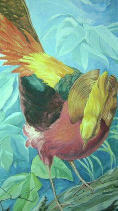 фазан Painting, Image, Art, Art Background, Painting Art, Kunst, Paintings, Performing Arts, Painted Canvas