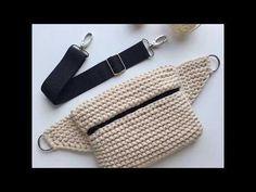 Crochet Belt, Free Crochet Bag, Crochet Stitches, Knit Crochet, Crochet Bag Tutorials, Crochet Videos, Crochet Handbags, Crochet Purses, Crochet Snowflake Pattern