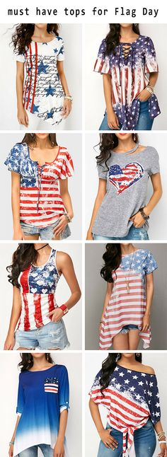 of july tops of july outfits of july American Flag print tops American Flag outfits flag day outfits flag day tops Red White and Blue tops Red White and Blue outfits. 4th Of July Outfits, Blue Outfits, Summer Outfits, Diy Shirt, Tank Top Shirt, Tank Tops, Cute Fashion, Fashion Outfits, Fashion Styles