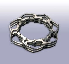 Pat Pruitt masters the art of machining stainless steel jewelry