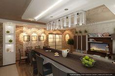 гостиная совмещенная с кухней фото: 19 тыс изображений найдено в Яндекс.Картинках