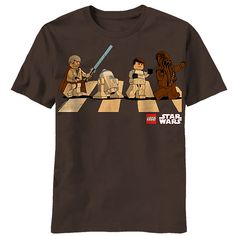 Star Wars LEGO Abbey Road, now in adult sizes!