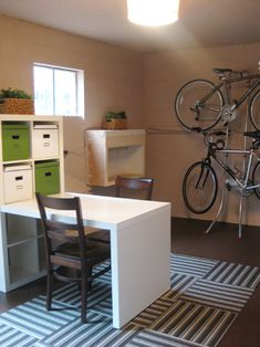2 bike wall rack (maybe for the second floor hallway when pete moves his bike inside?)