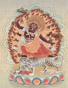 Dorje Drolo (1 of 8 manifestations of Guru Rinpoche)