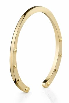 House of Harlow 1960 Gold-plated Horseshoe Bangle