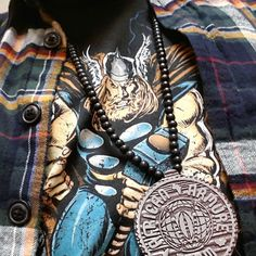 www.africanarmure.com tu me suis #Thor #AAGang #Pendentif #PNoLuffy #popaproject #papou