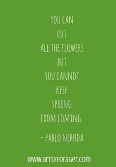 20 Quotes About Spring