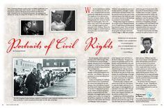 This travel article from the South Carolina Department of Parks, Recreation and Tourism highlights the civil rights images by photojournalist Cecil J. Williams. His photographs, which capture the contrasts of the 1940s through 1960s, are both historical and provokingly symbolic; drawing you in to contemplate a chapter in American history that preceded and embodied a time we know as the Civil Rights Era. http://dc.statelibrary.sc.gov/handle/10827/12029