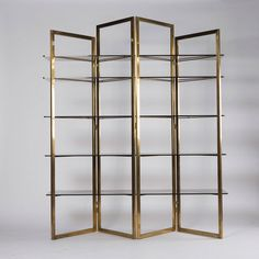 Shop shelves and other antique and modern storage pieces from the world's best furniture dealers. Wood Pallet Furniture, Art Deco Furniture, Accent Furniture, Vintage Furniture, Cool Furniture, Furniture Design, Steel Bookshelf, Bookcase, Display Shelves