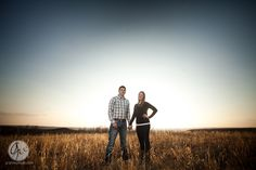 Katie and Kurtis : Manhattan, Kansas : Manhattan Kansas Wedding Photographer