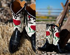 My favorite Lucchese cowboy boots! FamilyFreshCooking.com © MarlaMeridith.com