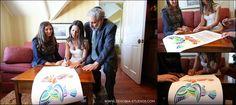 Ketubah Signing - Real Jewish Wedding, Castle Hill, Newport RI