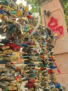 Prague's Love Locks.