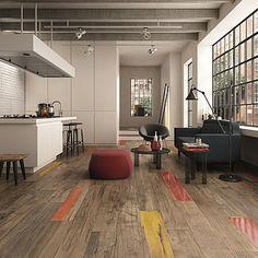 """Love the colored """"wood"""" floor tiles ABK Dolphin Dolphin-ABK-3"""