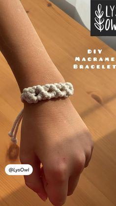 DIY Macrame Bracelet |LysOwl